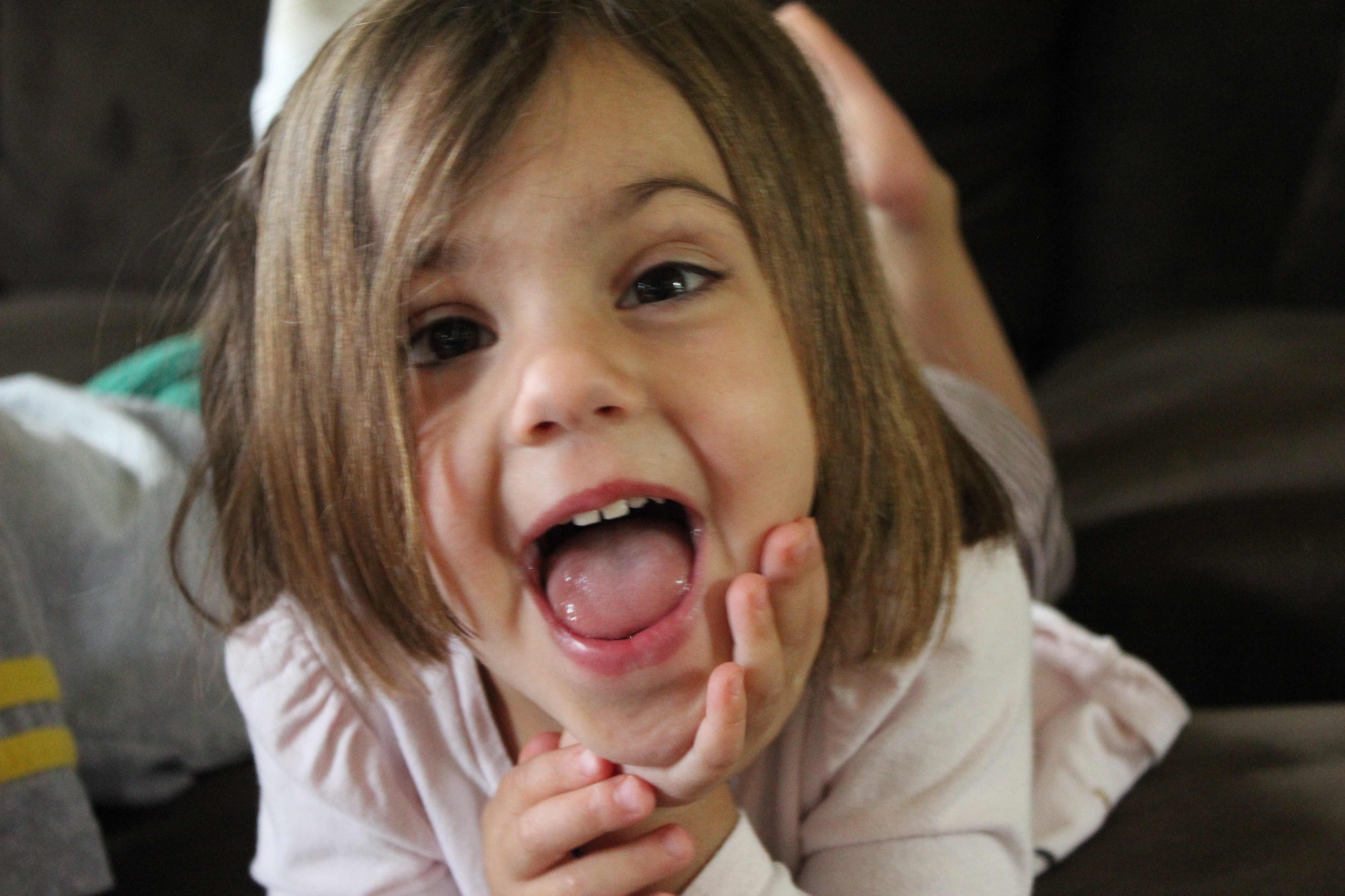 Pictures of tongue tied toddlers